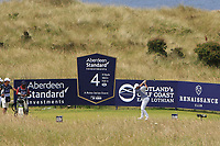 Rory McIlroy (NIR) on the 4th during Round 4 of the Aberdeen Standard Investments Scottish Open 2019 at The Renaissance Club, North Berwick, Scotland on Sunday 14th July 2019.<br /> Picture:  Thos Caffrey / Golffile<br /> <br /> All photos usage must carry mandatory copyright credit (© Golffile | Thos Caffrey)