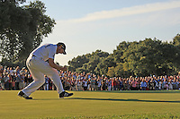 Sergio Garcia (ESP) winner of the  Andalucía Masters at Club de Golf Valderrama, Sotogrande, Spain. .Picture Denise Cleary www.golffile.ie