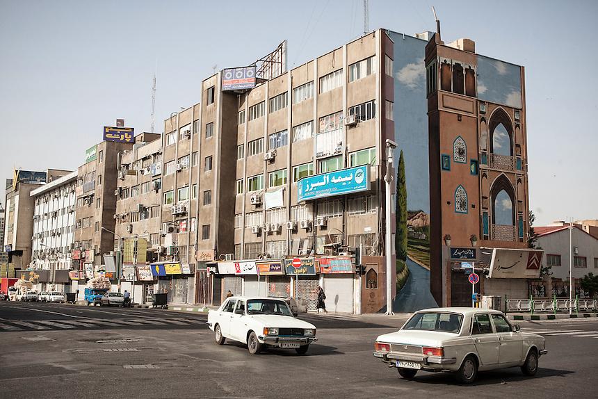 City scene taken near Imam Khomeini Square