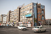 City scene taken near Imam Khomeini Square