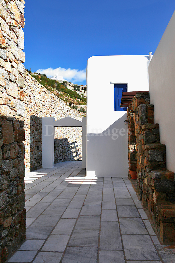 cycladic house