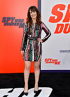 Susanna Fogel at the world premiere for &quot;The Spy Who Dumped Me&quot; at the Fox Village Theatre, Los Angeles, USA 25 July 2018<br /> Picture: Paul Smith/Featureflash/SilverHub 0208 004 5359 sales@silverhubmedia.com