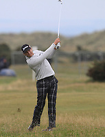 Chris Stroud (USA) on the 17th fairway during Round 4 of the 2015 Alfred Dunhill Links Championship at the Old Course in St. Andrews in Scotland on 4/10/15.<br /> Picture: Thos Caffrey | Golffile