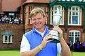 Ernie Els (RSA) poses with the trophy after the final round 141st Open Championship played at Royal Lytham & St Annes, Lytham St Annes, Lancashire, England. 19 - 22 July 2012 (Picture Credit / Phil Inglis)