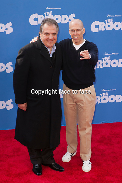Jim Gianopulos; Jeffrey Katzenberg at the premiere of The Croods at AMC Loews Lincoln Square on March 10, 2013 in New York City...Credit: MediaPunch/face to face..- Germany, Austria, Switzerland, Eastern Europe, Australia, UK, USA, Taiwan, Singapore, China, Malaysia and Thailand rights only -