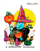 GIORDANO, CUTE ANIMALS, LUSTIGE TIERE, ANIMALITOS DIVERTIDOS, Halloween, paintings+++++,USGI1539,#AC#