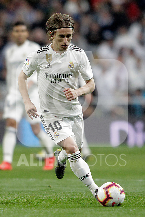 Real Madrid CF's Luka Modric during La Liga match. March 02,2019. (ALTERPHOTOS/Alconada)