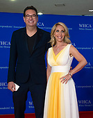 Marc Adelman and Dana Bash arrive for the 2018 White House Correspondents Association Annual Dinner at the Washington Hilton Hotel on Saturday, April 28, 2018.<br /> Credit: Ron Sachs / CNP<br /> <br /> (RESTRICTION: NO New York or New Jersey Newspapers or newspapers within a 75 mile radius of New York City)