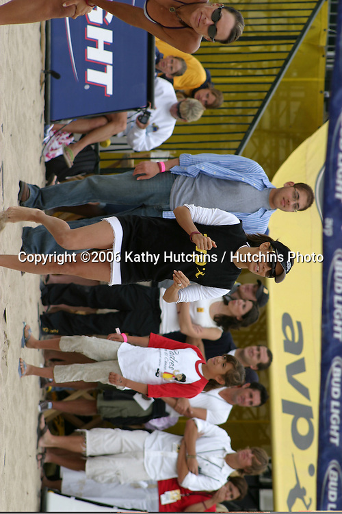 "Eva Longoria.""Spike for Hope"" Celebrity Volleyball Match.To benefit the Padres Foundation.During Break at the AVP Pro Vollyball Tournament.To benefit the Padres Foundation.Hermosa Beach, CA.May 20, 2007.©2006 Kathy Hutchins / Hutchins Photo...."
