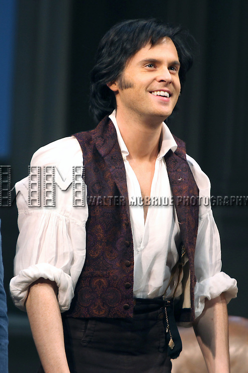 Tom Riley.during the Broadway Opening Night Curtain Call for 'Arcadia' at the Barrymore Theatre in New York City.