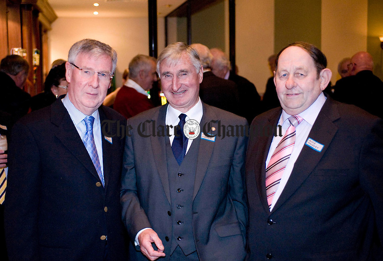 Joe Moloney with Len Gaynor and Alfie Howley. Photograph by Declan Monaghan