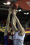 Todorovic vs Samardziski. FC Barcelona Regal vs Lietuvos Rytas : 90 - 66.