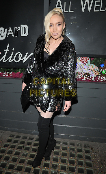 Alexis Knox attends the Notion magazine issue 71 launch party, Lights of Soho, Brewer Street, London, UK, on Friday 18 December 2015.<br /> CAP/CAN<br /> &copy;Can Nguyen/Capital Pictures