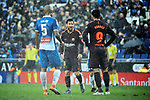 League Santander 2017-2018 - Game: 22.<br /> RCD Espanyol vs FC Barcelona: 1-1.<br /> Naldo, Messi &amp; Suarez.