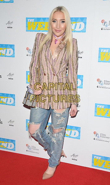 Alexis Knox at the &quot;The Weekend&quot; UK film premiere, Vue West End cinema, Leicester Square, London, England, UK, on Monday 28 November 2016. <br /> CAP/CAN<br /> &copy;CAN/Capital Pictures