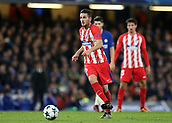 5th December 2017, Stamford Bridge, London, England; UEFA Champions League football, Chelsea versus Atletico Madrid; Koke of Atletico Madrid in action