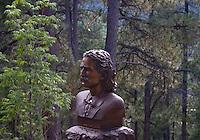 Wild Bill Hickock's Gravestone at the Deadwood Cemetery in South Dakota