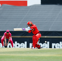 2nd November 2019; Western Australia Cricket Association Ground, Perth, Western Australia, Australia; Womens Big Bash League Cricket, Melbourne Renegades versus Sydney Sixers; Danni Wyatt of the Melbourne Renegades snicks the ball to Alyssa Healy of the Sydney Sixers and is out - Editorial Use