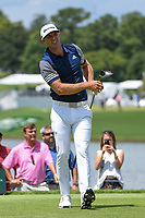 Dustin Johnson (USA) watches his tee shot on 6 during round 2 of the 2019 Tour Championship, East Lake Golf Course, Atlanta, Georgia, USA. 8/23/2019.<br /> Picture Ken Murray / Golffile.ie<br /> <br /> All photo usage must carry mandatory copyright credit (© Golffile | Ken Murray)