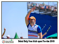 Shane Lowry (IRL) team tee off the 10th tee during Wednesday's Pro-Am of the 2018 Dubai Duty Free Irish Open, held at Ballyliffin Golf Club, Ireland. 4th July 2018.<br /> Picture: Eoin Clarke | Golffile<br /> <br /> <br /> All photos usage must carry mandatory copyright credit (&copy; Golffile | Eoin Clarke)