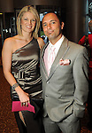 Tracey and Tobias Herrera at the Pink Tie Gala at the InterContinental Hotel Saturday March 6,2010. (Dave Rossman Photo)