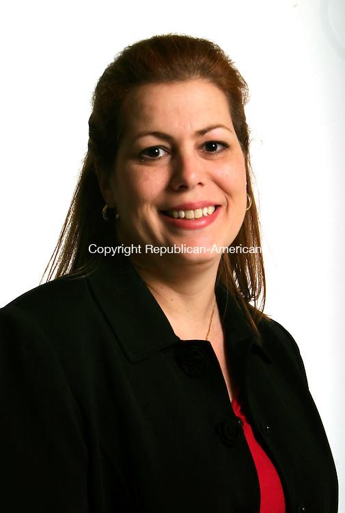 WATERBURY, CT - 18 OCTOBER 2005 -101805JS24--Lisa Joseph, candidate for Wolcott Town Clerk.  --Jim Shannon / Republican-American--Elizabeth Esty are CQ