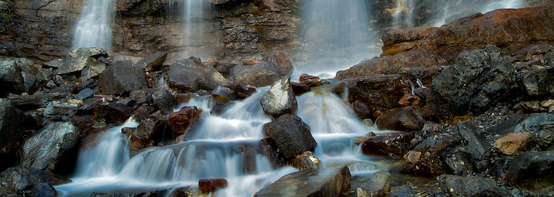 Tangle Falls. Jasper National Park, Alberta, Canada