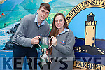 Students Colm McSweeney and Maggie Flavin were awarded Male and Female Student of the Year in Tarbert Comprehensive School this week.