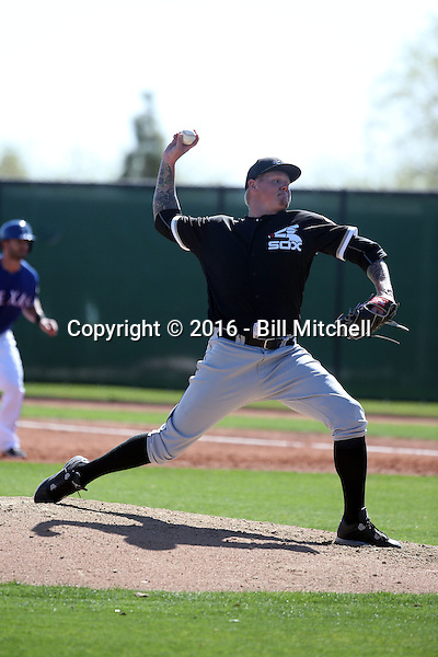 Mat Latos - Chicago White Sox 2016 spring training (Bill Mitchell)
