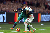 Lasse Schone of Ajax and Christian Eriksen of Tottenham HotspurDusan Tadic of Ajax and Christian Eriksen of Tottenham Hotspur during AFC Ajax vs Tottenham Hotspur, UEFA Champions League Football at the Johan Cruyff Arena on 8th May 2019