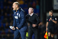 Paul Lambert, Manager of Ipswich Town shouts instructions to his new charges during Ipswich Town vs Preston North End, Sky Bet EFL Championship Football at Portman Road on 3rd November 2018