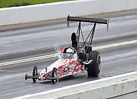 May 20, 2017; Topeka, KS, USA; NHRA top alcohol dragster driver Terry Schmidt during qualifying for the Heartland Nationals at Heartland Park Topeka. Mandatory Credit: Mark J. Rebilas-USA TODAY Sports