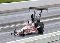 May 20, 2017; Topeka, KS, USA; NHRA top alcohol dragster driver Terry Schmidt during qualifying for the Heartland Nationals at Heartland Park Topeka. Mandatory Credit: Mark J. Rebilas-USA TODAY Sports