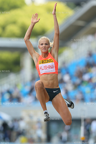 Darya Klishina (RUS), MAY 10, 2015 - Athletics : IAAF World Challenge Seiko Golden Grand Prix in Kawasaki, Women's Long Jump at Todoroki Stadium, Kanagawa, Japan. (Photo by YUTAKA/AFLO SPORT)
