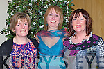 DANCE: Noreen  Leen, Roisin O'Hanlon and Catherine Nelan having a great night at the Causeway Chomathas Social in Ballyroe Heights Hotel, Tralee on Saturday night........... . ............................... ..........