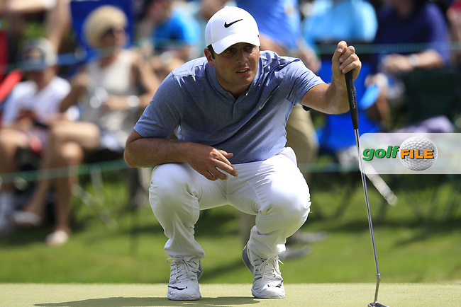 Francesco Molinari (ITA) during final round of the Wells Fargo Championship, Quail Hollow Country Club, Charlotte, North Carolina, USA. 08/05/2016.<br /> Picture: Golffile | Fran Caffrey<br /> <br /> <br /> All photo usage must carry mandatory copyright credit (&copy; Golffile | Fran Caffrey)