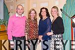Anthony Greaney (Killarney South), Frances Greaney (Killarney South), Linda O'Reilly, Iesha Flynn  enjoying  the Community Games Awards Dinner at the River Island Hotel Castleisland on Friday