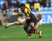 Wasps v Harlequins. Aviva Premiership Rugby. February 28,2016