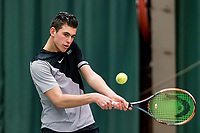 Wateringen, The Netherlands, March 9, 2018,  De Rijenhof , NOJK 12/16 years, Thijmen Loof (NED)<br /> Photo: www.tennisimages.com/Henk Koster