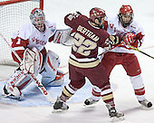 Brian Elliott, Dan Bertram, Jeff Likens - The University of Wisconsin Badgers defeated the Boston College Eagles 2-1 on Saturday, April 8, 2006, at the Bradley Center in Milwaukee, Wisconsin in the 2006 Frozen Four Final to take the national Title.
