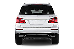 2013 Mercedes GL-Class GL450 Luxury SUV Straight rear view Stock Photo