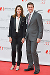 Valerie Kaprisky and Eric Close on the red carpet for the inauguration of the Monte-Carlo Film Festival of Television. Monte-Carlo, 13 june 2015, Monaco