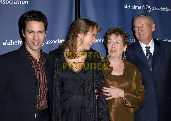 "ERIC MCCORMACK  , WIFE & PARENTS.The Alzheimer's Association's 12th Annual ""A Night at Sardi's"" Celebrity Fundraiser held at The Beverly Hilton Hotel in Beverly Hills, California .04 March 2004.*UK Sales Only*.www.capitalpictures.com.sales@capitalpictures.com.©Capital Pictures."