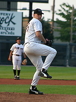 August 20, 2003:  Rob Henkel of the Erie Seawolves during a game at Jerry Uht Park in Erie, Pennsylvania.  Photo by:  Mike Janes/Four Seam Images