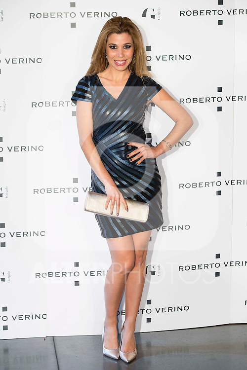 "Natalia during the presentation of the new Spring-Summer collection ""Un Balcon al Mar"" of Roberto Verino at Platea in Madrid. March 16, 2016. (ALTERPHOTOS/Borja B.Hojas)"