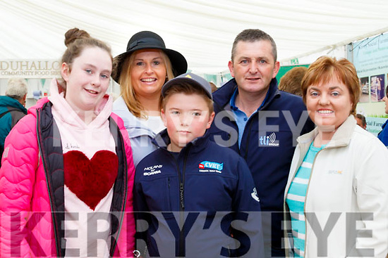 Day out<br /> ----------<br /> Enjoying the National Ploughing Championships 2017 in Tullamore last Tuesday were L-R Hazel&amp;Geraldine Parker with Conor, Liam&amp;Sharon Brennan all from Kilflynn.
