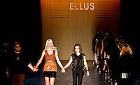 SAO PAULO, SP, 21 DE JANEIRO 2012 - SPFW  - DESFILE ELLUS - Desfile da grife Ellus na Sao Paulo Fashion Week 2012, no predio da Bienal, no Parque do Ibirapuera, na zona sul de Sao Paulo, neste sabado, 21. (FOTO: VANESSA CARVALHO - NEWS FREE).