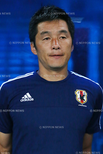 GKYohei Sato (JPN), MARCH 29, 2015 - Football / Soccer : AFC U-23 Championship 2016 Qualification Group I match between U-22 Japan 2-0 U-22 Vietnam at Shah Alam Stadium in Shah Alam, Malaysia. (Photo by Sho Tamura/AFLO SPORT)