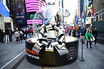 """Times Square Alliance unveiled its first season of Broadway """"Show Globes"""", """"Ain't Too Proud"""" in Times Square on November 04, 2019 in New York City."""
