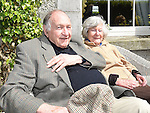 Blaise and Helen Fryer pictured at the garden party held in Collon house to raise funds for rhe repair of the roof of Collon Church of Ireland. Photo:Colin Bell/pressphotos.ie